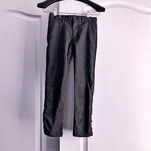 H&M -  Boys Charcoal tweed pants
